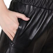 Genuine sheepskin Leather Trousersfor Women ,Genuien Leather Pants5536