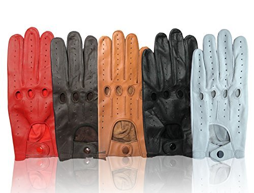 Men's Leather Driving Gloves Genuine Top Quality Leather