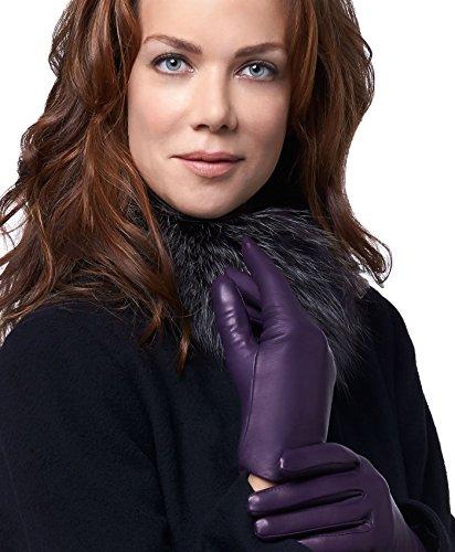 Fratelli Orsini Everyday Women's Italian Cashmere Lined Leather Gloves