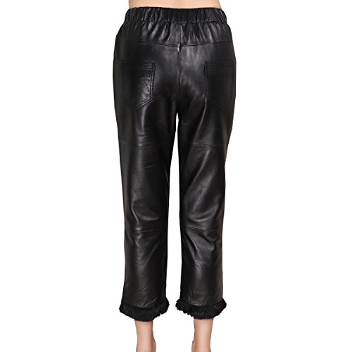 Genuine sheepskin Leather Trousersfor Women ,Genuien Leather Pants5536