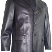 Paccilo 10211 Genuine Lambskin Leather Classic Blazer