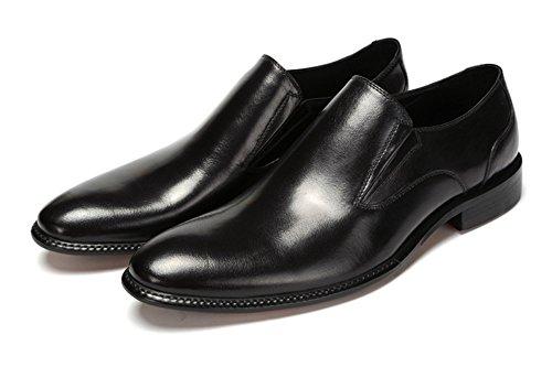 Santimon-Men's Genuine Leather Business Shoes