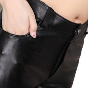 Humiture Genuine sheepskin Leather Trouser for Women 5531
