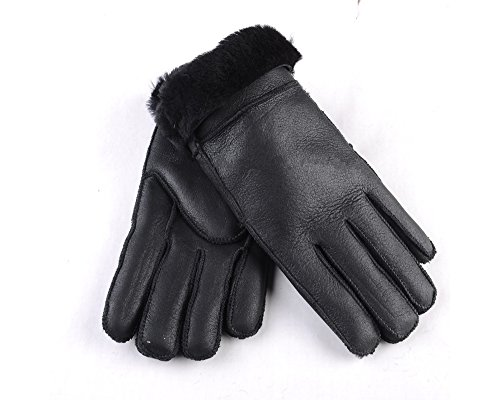 WARMIE Soft Leather Australian Sheepskin Gloves For Women | Premium, Soft & Fluffy