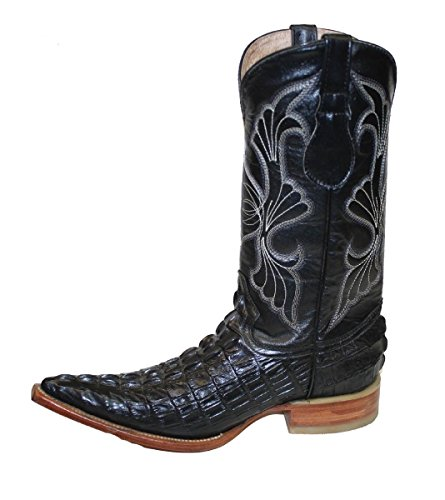 Cowboy boot's Leather Crocodile Back Cut Cowboy Handmade Luxury Boots