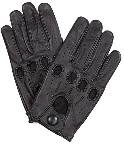Riparo Genuine Leather Full-finger Driving Gloves
