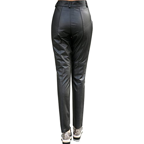 Humiture Women's Genuine cowhide Real Leather Pants5519
