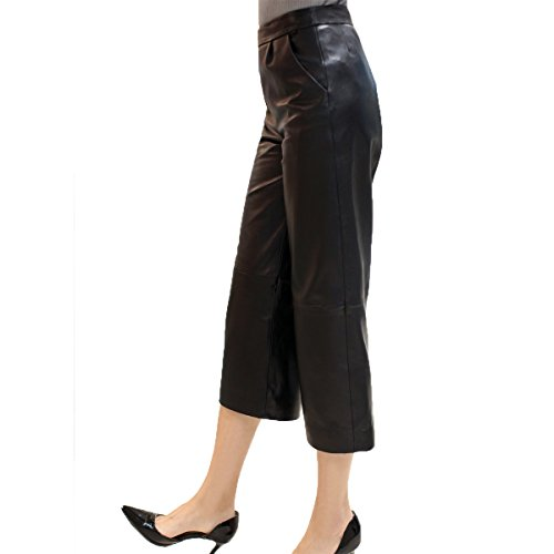 Genuine Lambskin Leather Trouser for Women 5523