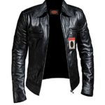 Laverapelle 1510200 Men's Lambskin Real Leather Jacket