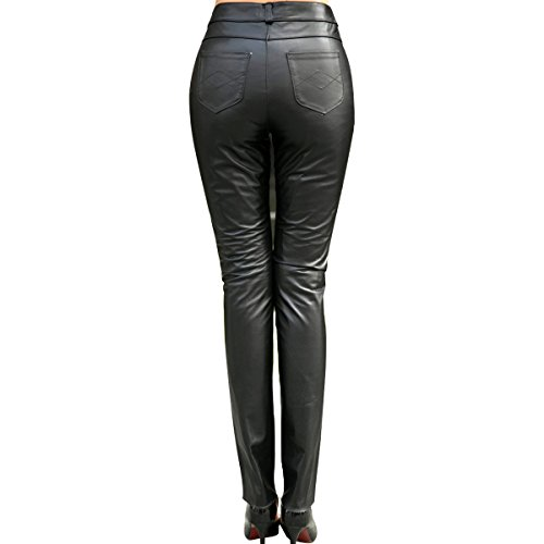 Humiture Women's Genuine cowhide Real Leather Pants5521