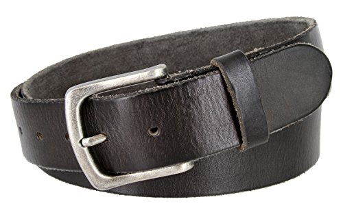 Classic Oil-tanned Genuine Leather Casual Jean Belt for Women