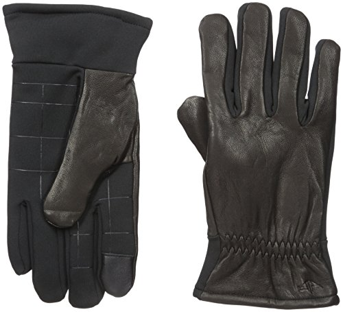 Dockers Men's Leather Glove with Stretch Back