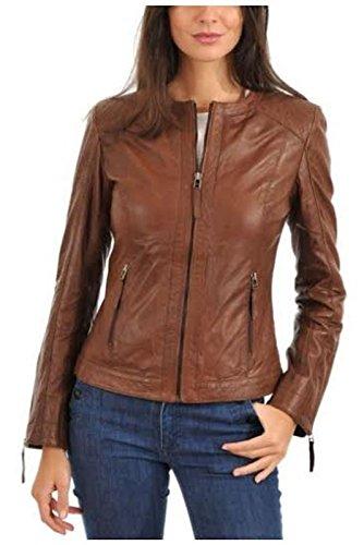 Lambskin Leather Women Jacket