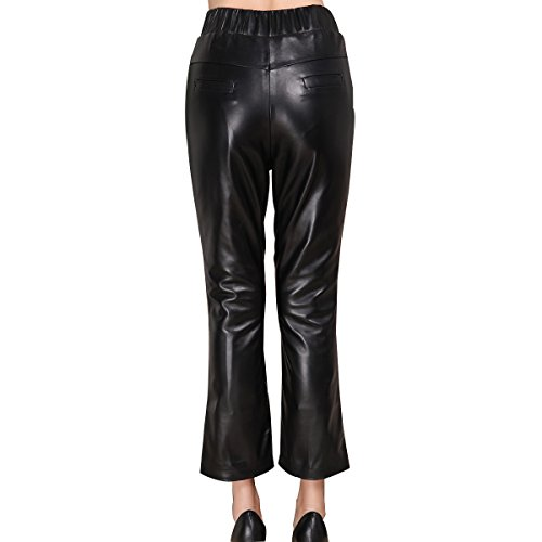 Genuine sheepskin Leather Trousersfor Women ,Genuien Leather Pants5535