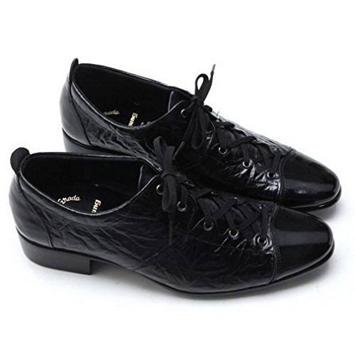 EpicStep Men's Sylish Genuine Leather Shoes Dress Formal Business Casual Lace Up Oxfords Loafers