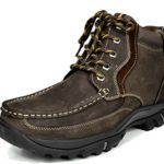 Bruno Marc Men's Genuine Leather Rubber Outsole Classic American 6″ Work Boots
