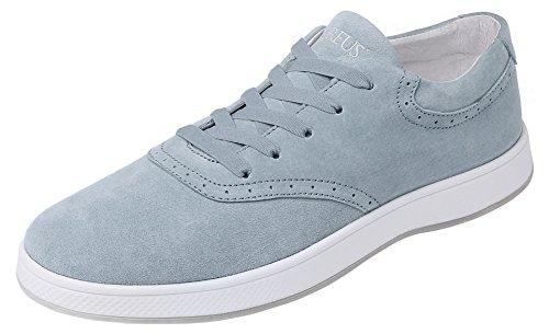 Aureus Men's Minimus Nubuck Leather Low Top Oxford Shoe