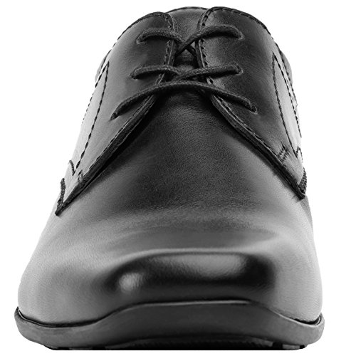 Flexi Harlie Oxford Dress Shoes   Comfortable Genuine Leather Formal Men's Shoes   Handmade in Mexico
