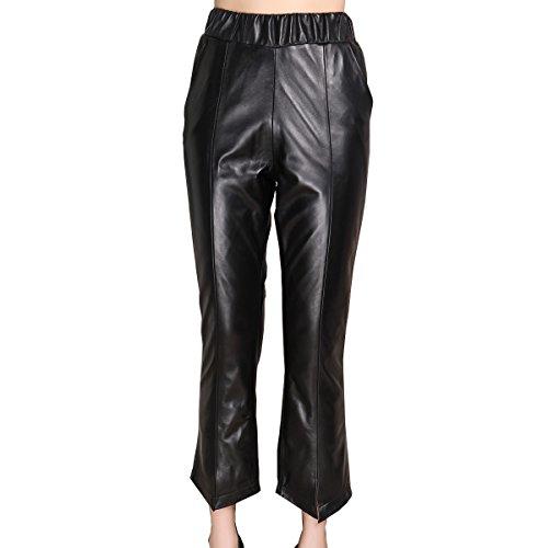 Genuine sheepskin Leather Trousersfor Women ,Genuien Leather Pants5535