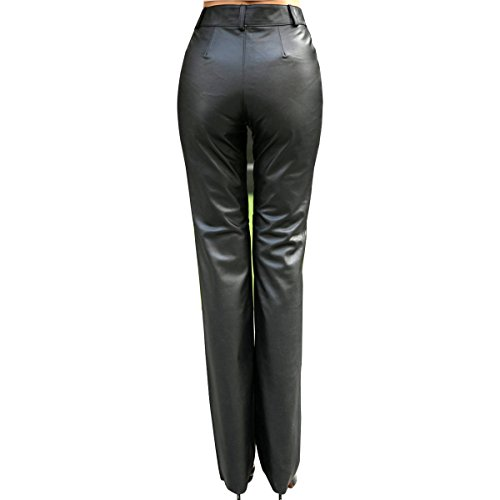 Humiture Women's Genuine cowhide Real Leather Pants 5520