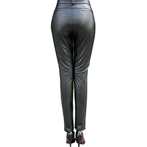 Humiture Women's Genuine cowhide Real Leather Pants5518