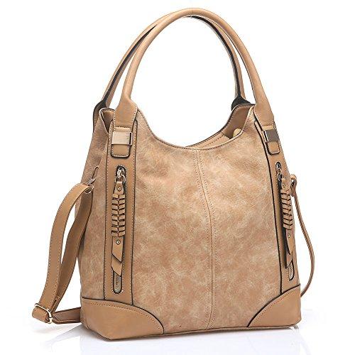UTAKE Women Handbags Leather Handbags Shoulder Bag PU Leather Bag Large Tote Bag UT57